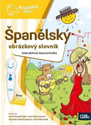 Kniha španělský obrázkový slovník