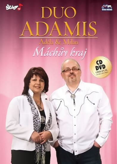 Duo Adamis - Máchův kraj - CD+DVD