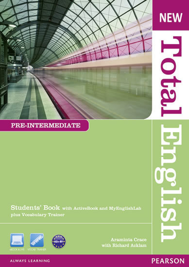 New Total English Pre-Intermediate Students´ Book with Active Book and MyLab Pack